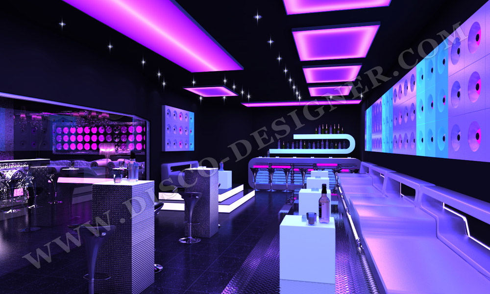 Disco Sofa Nightclub Ultra Style Design