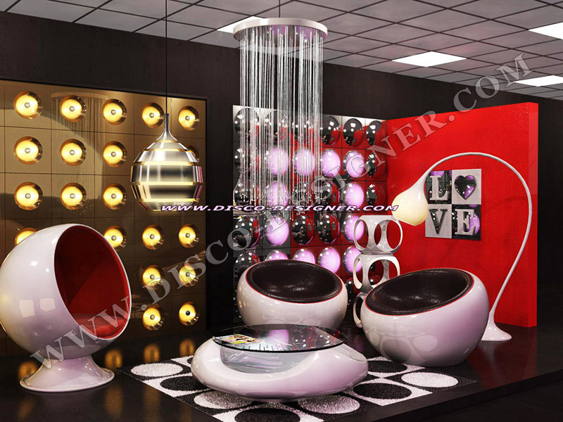 70s RETRO MODERN NIGHT CLUB DESIGN - NEW BAR LOUNGE RETRO ...