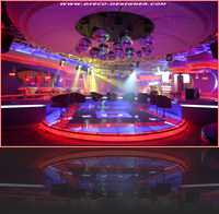 LED Dance Floor - disco-club-design