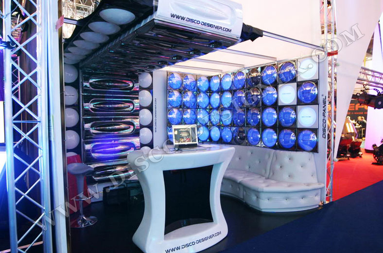disco panel - Club Design - pro light and sound stand dsign