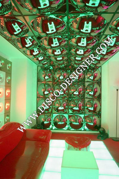 60 X 60 BUBBLES DECOR FOR CLUBS AND BARS - LOUNGES