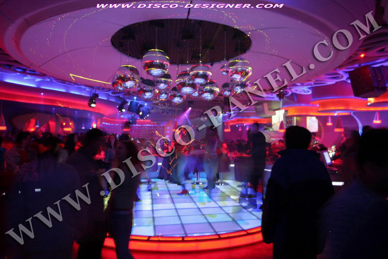 Illuminated Dance Floors