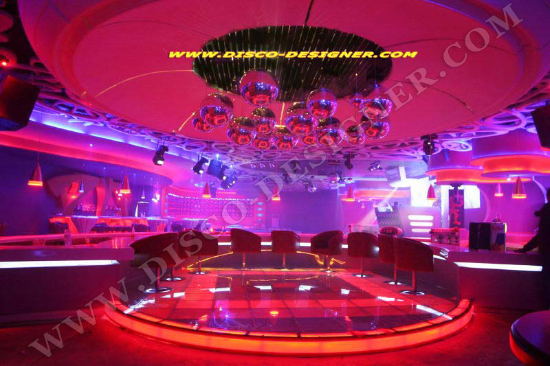 led dancefloor custom design