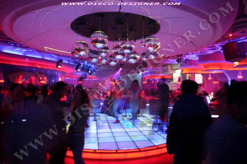 disco dancefloor led