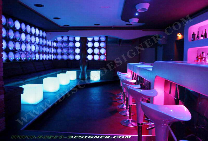 Nightclub design nightclub lighting disco design night club sound systems disco lighting - Lounge deco ...