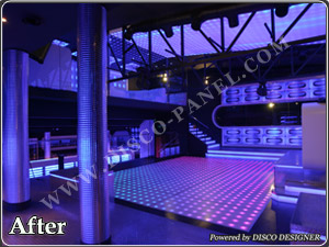Light LED floor