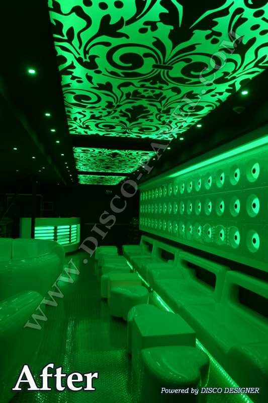 led green lights design
