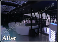 led white decor