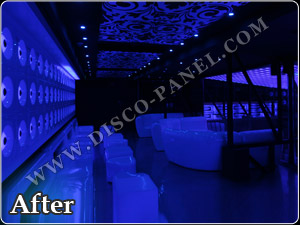 disco panel - Club Design - pro light and sound  dsign