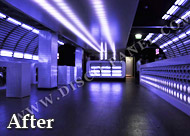 DJ Booth LED CEILING panels