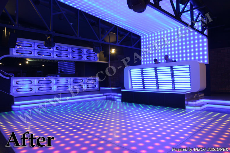project by disco designer hungary customer self installation