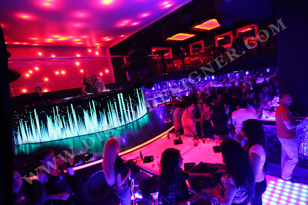 Project by disco designer bulgaria light ultraclub for Decoration boite de nuit