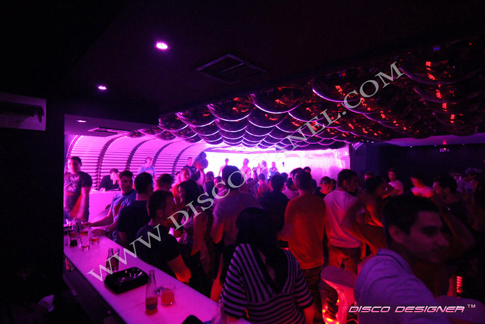 modern discotheque design