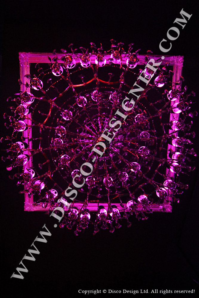 Ultra Baroque Crystal Chandelier