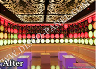 ceiling panel led decor