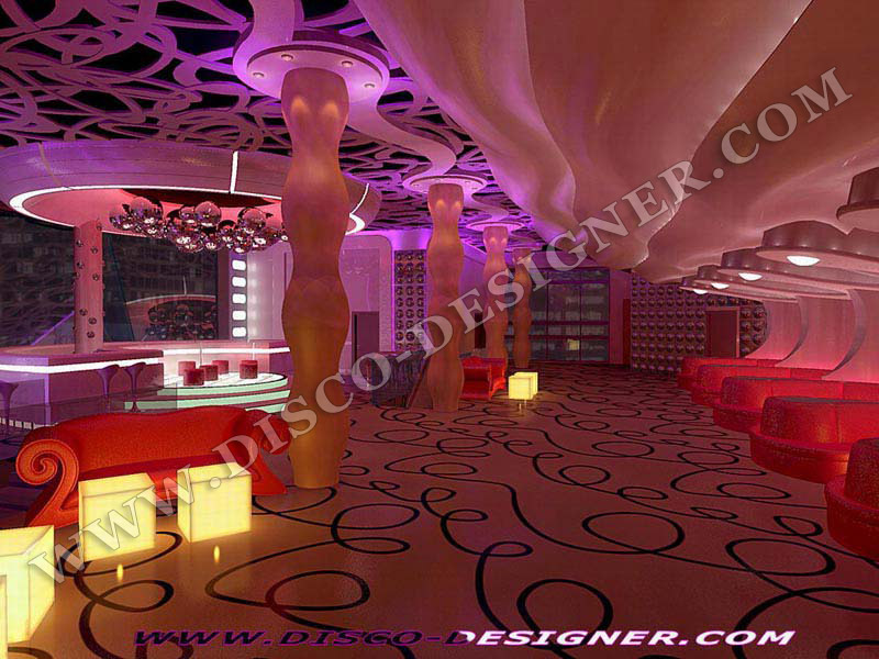 DEVELOPING NIGHTCLUB DECOR DISCO DECORATIONS DECORATION DISCOTHEQUE