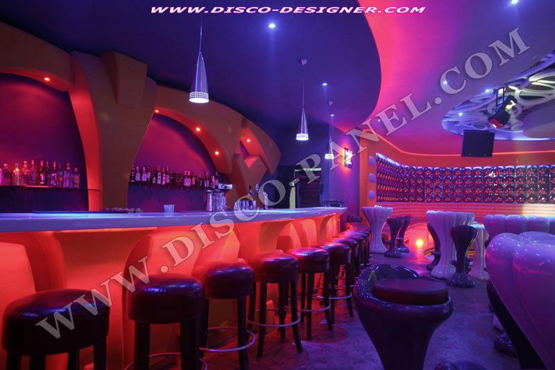 Led eclairage de mur et d cor moderne pour des boites de nuit decoration de bar et lounge - Deco lounge chique modern ...