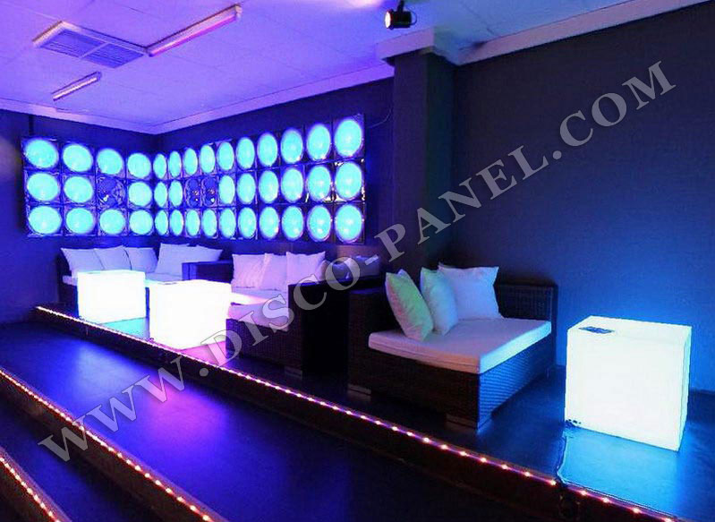 NIGHTCLUB FURNITURE LED LIGHTED CUBE TABLES