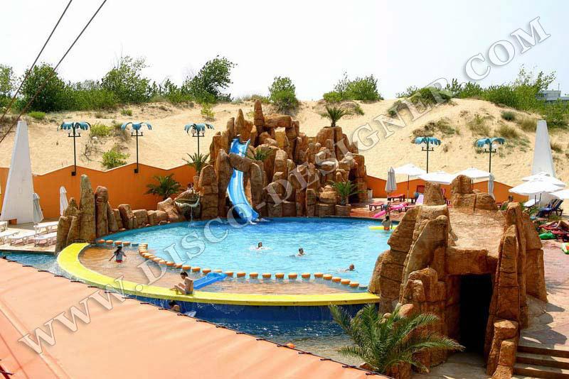 Rocas artificial para discotecas cascadas para for Software diseno piscinas