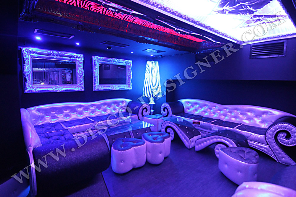 Muebles para discotecas led mesas luminosas muebles - Mobiliario de un bar ...