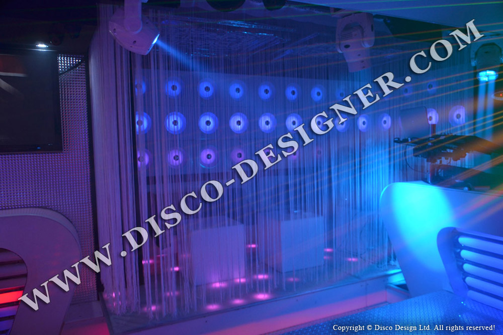 led eye-disco panel