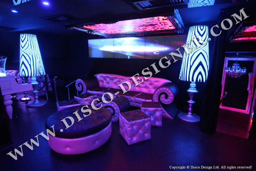 NIGHTCLUB FURNITURE | LED LIGHTED CUBE TABLES | LED ...