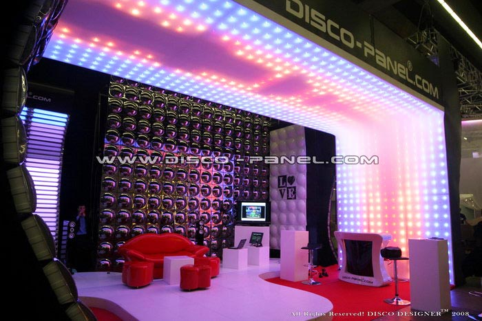 led_ceiling_panel_prolight_sound_club_Bar_lighting_design