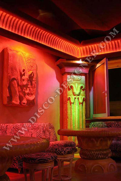 decoration discotheque