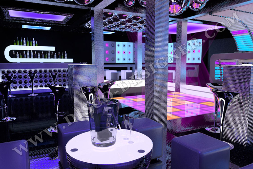 Project Cost Example 3d Visualization Of Nightclub