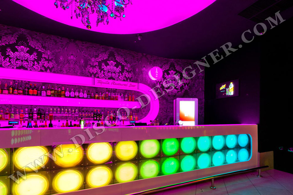 LED Lighted Bars - LED Bar Shelves