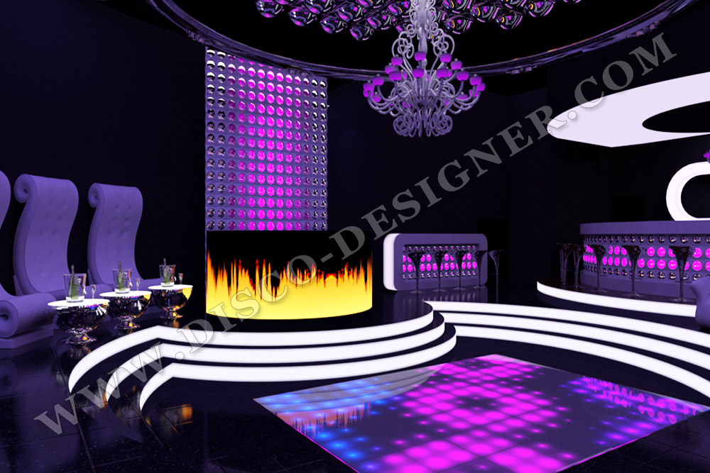 video display - dj booth