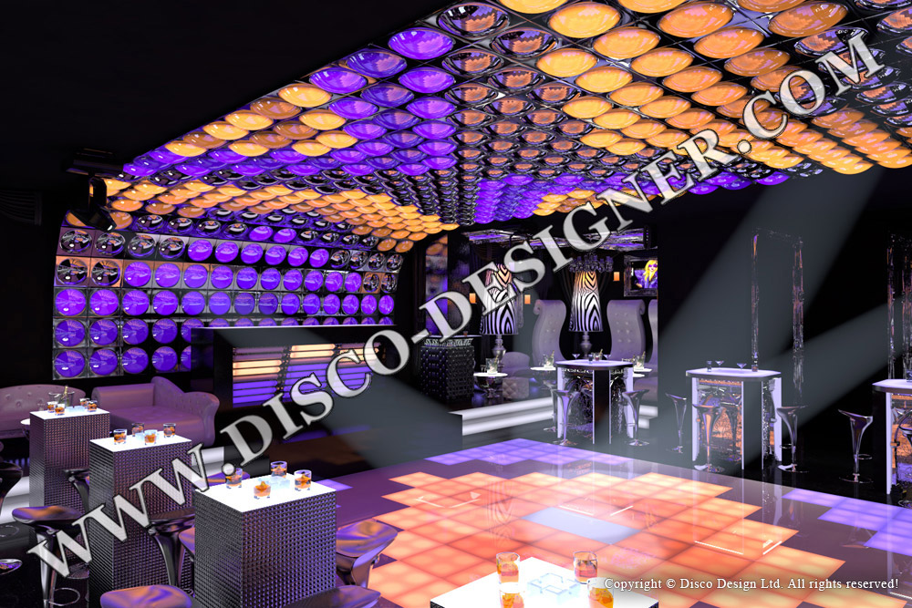 Disco designer for Design club sessel