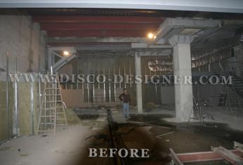 nightclub before renovation
