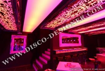 LED ornamental ceiling