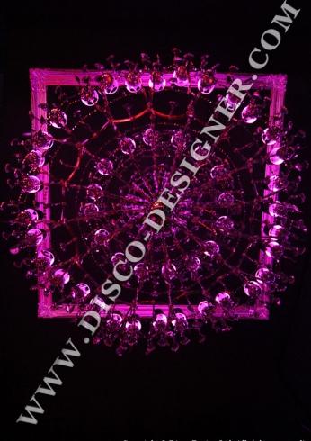disco chandeliers