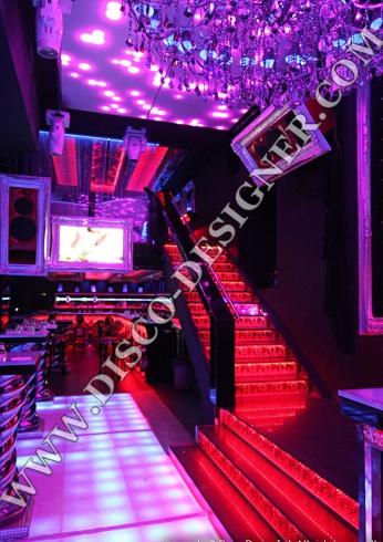 disco stairs design