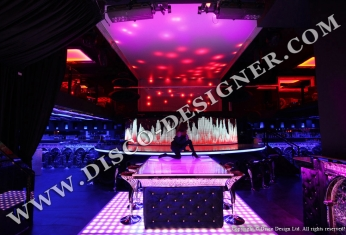 LED disco ceiling