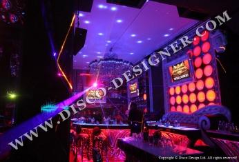 LED disco panel