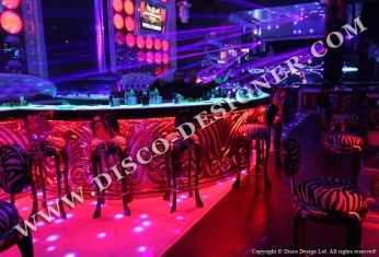 LED  baroque bar