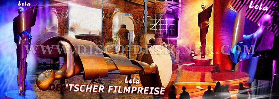 Disco Design Projects - Germany LOLA Deutscher Filmpreise
