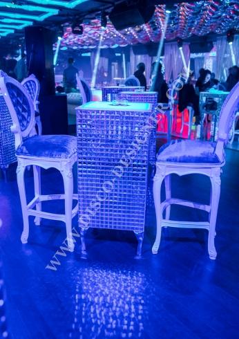 disco baroque chair