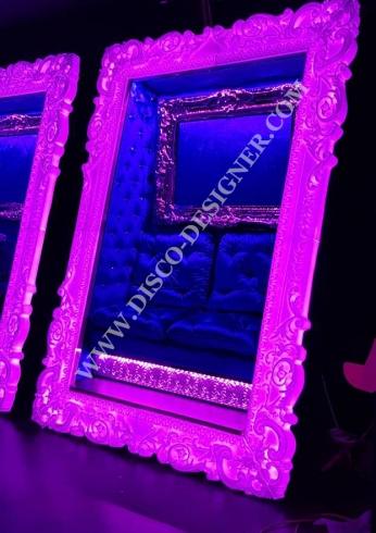 illuminated disco frame