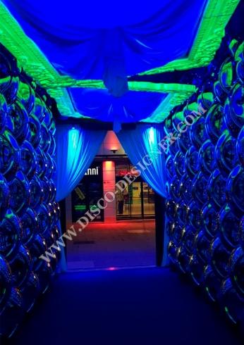led disco frames