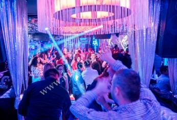 nightclub chandelier