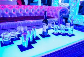 nightclub led table