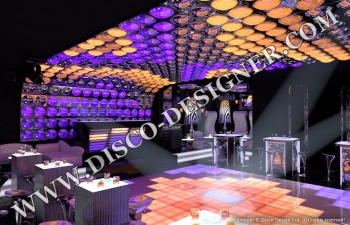 3D design ceiling bubble