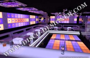 modern disco club design
