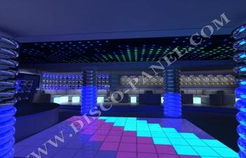 LED disco dancing