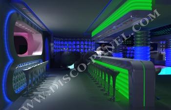 LED disco bar