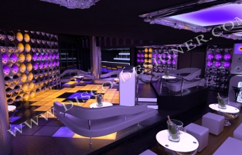 ultra modern nightclub